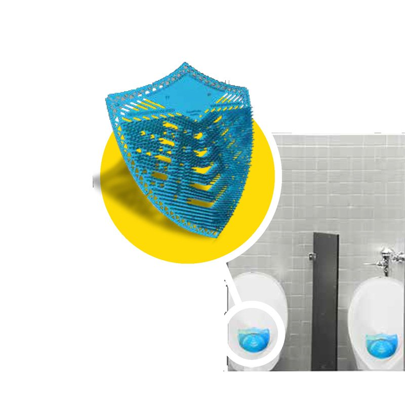 Urinal Screen schermo orinatoi